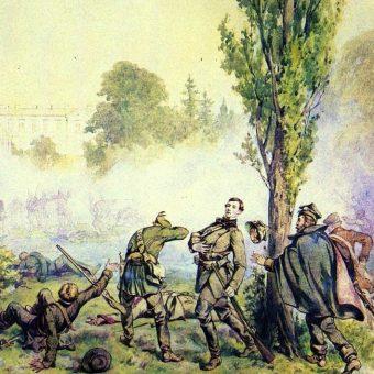 Juliusz Kossak - Bitwa pod Miłosławiem