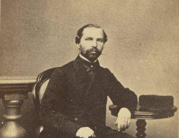 Kazimierz Mielęcki, około roku 1863