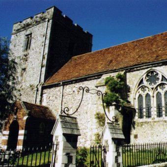 Kościół św. Jana Chrzciciela, Winchester (fot. Michael FORD,lic. CC BY-SA 2.0)