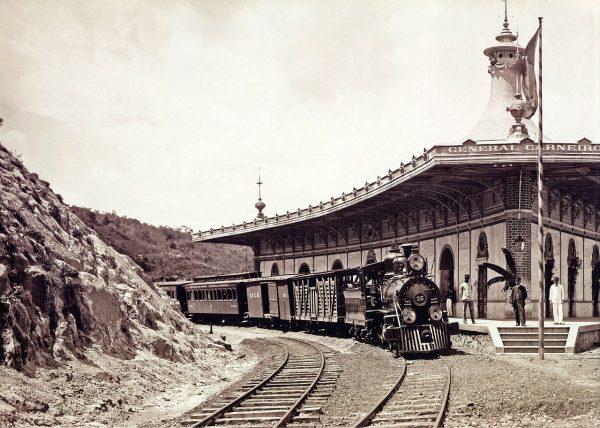 Dzięki tajnemu porozumieniu z Shore Railroad Rockefeller znacznie obniżył koszty transportu swojej ropy. Zdjęcie poglądowe.
