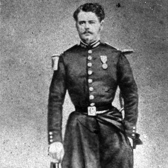 Léon Young de Blankenheim, Francuz w powstaniu styczniowym