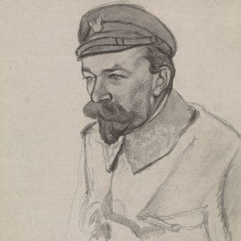 Leon Berbecki, dowódca  2. pułku I Brygady, w 1915 roku