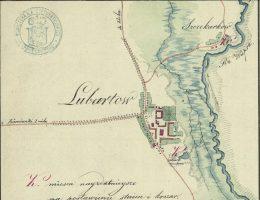 Lubartów (plan z 1812)
