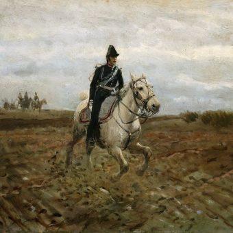 M. Gierymski - Adiutant sztabowy