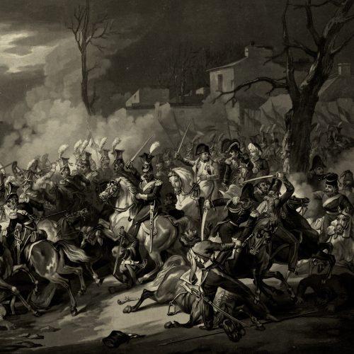 Napoleon pod Arcis-sur-Aube (Martinet, J.P.M. Jazet)