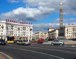 Mińsk, Plac Zwycięstwa (fot. jackal007, lic. CC0)