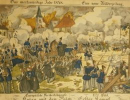 Neuruppiner Bilderbogen, nr 2062 (gazeta z 1848 artykułem o bitwie)