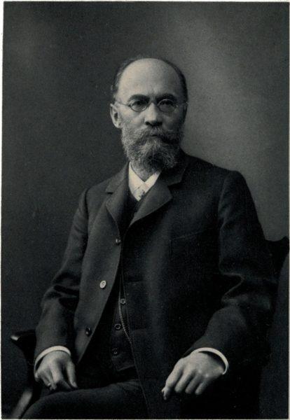 Niemiecki językoznawca Friedrich Karl Brugmann (fot. domena publiczna)