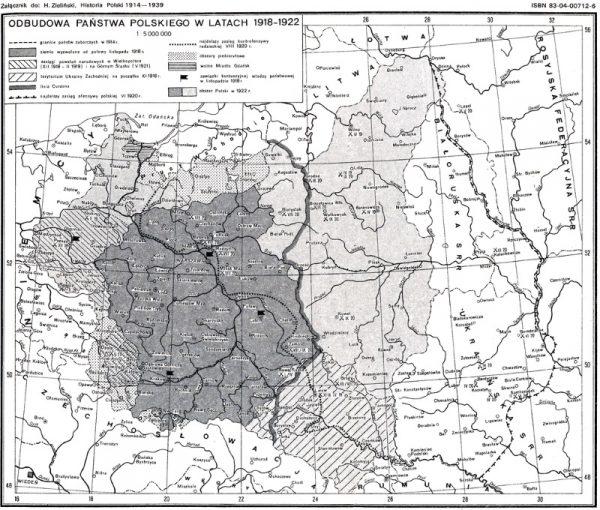Odbudowa państwa polskiego w latach 1918-1922 (fot. Henryk Zieliński, lic. CC BY-SA 2.5-2.0-1.0)