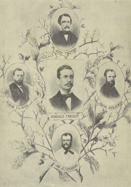 Ostatni członkowie Rządu Narodowego z 1863 i 1864 r. straceni w Warszawie dnia 5 sierpnia 1864