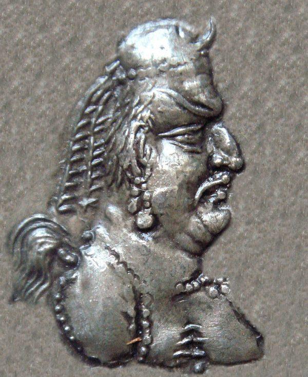 Król Kingila, wódz środkowoazjatyckiego plemienia z V wieku (przykład ACD)