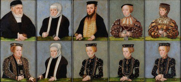 Portrety Jagiellonów z Kolekcji Czartoryskich (fot. domena publiczna)
