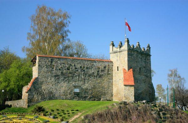 Ruiny nowosądeckiego zamku (fot. Ffolas, CCA-SA 3.0 Pl)
