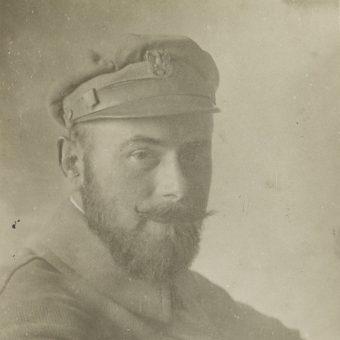 """Major Edward Rydz-Śmigły (""""Portrety oficerów I Brygady i działaczy politycznych"""")"""