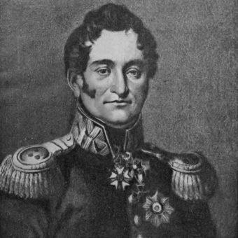 Tomasz Łubieński, dowódca bitwy, weteran wojen napoleońskich