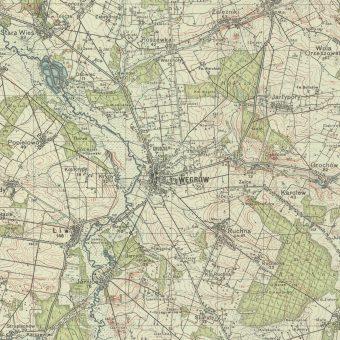 Węgrów (mapa z 1937)