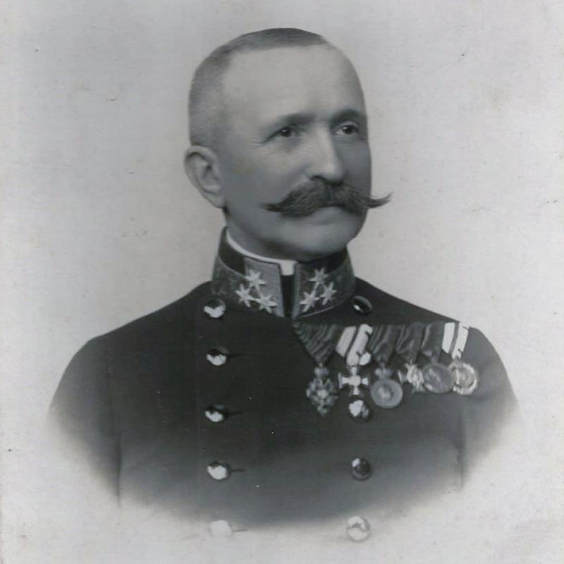 Wiktor Grzesicki (jako pułkownik w 1912)