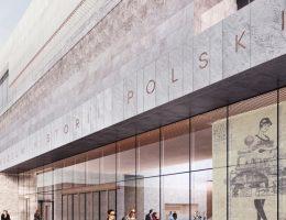 Wizualizacja budynku Muzeum Historii Polski