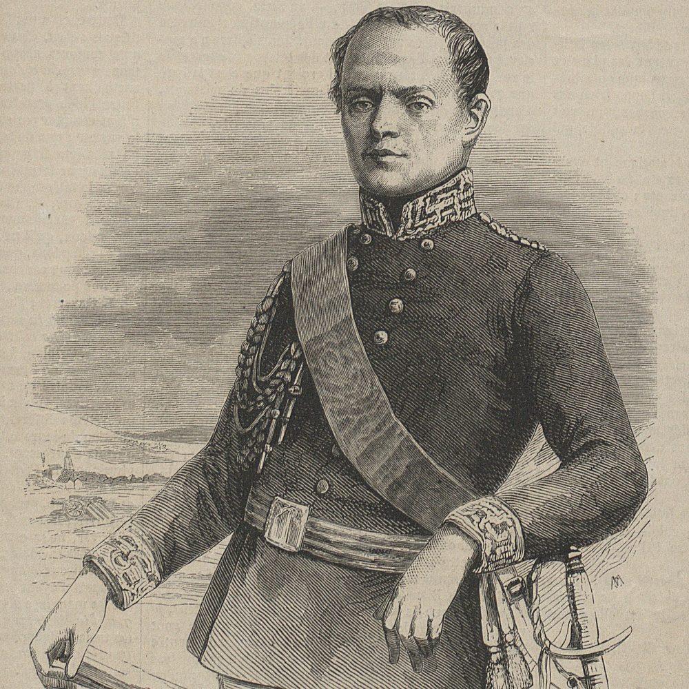 Wojciech Chrzanowski, późniejszy dowódca Armii Piemontu w 1848 i 1849