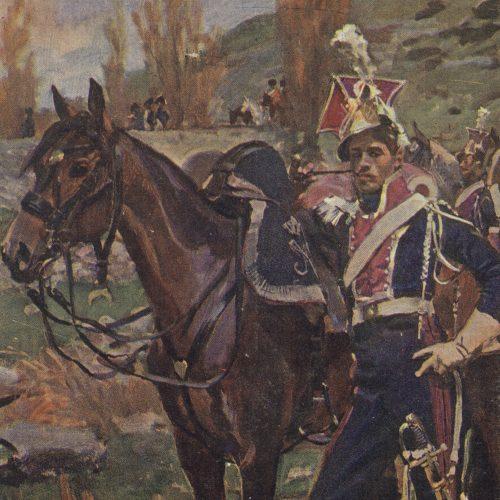 Szwoleżer gwardii polskiej, Somosierra 1808