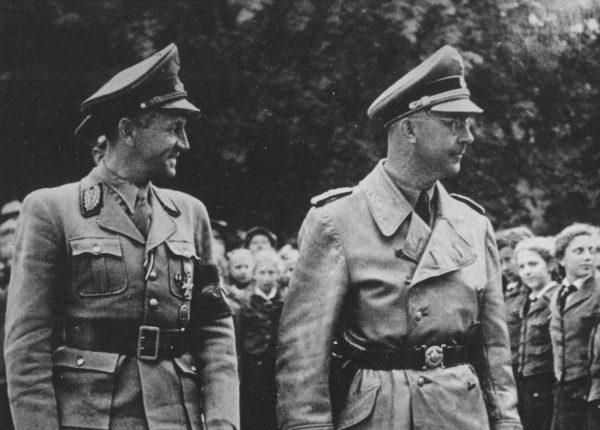 """Nawet lojalny wobec Hitlera Himmler miał problemy z lekturą """"Mein Kampf""""."""