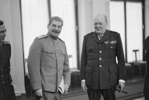 Pozory współpracy zostały zachowane, ale to Stalin był w Jałcie głównym rozgrywającym.