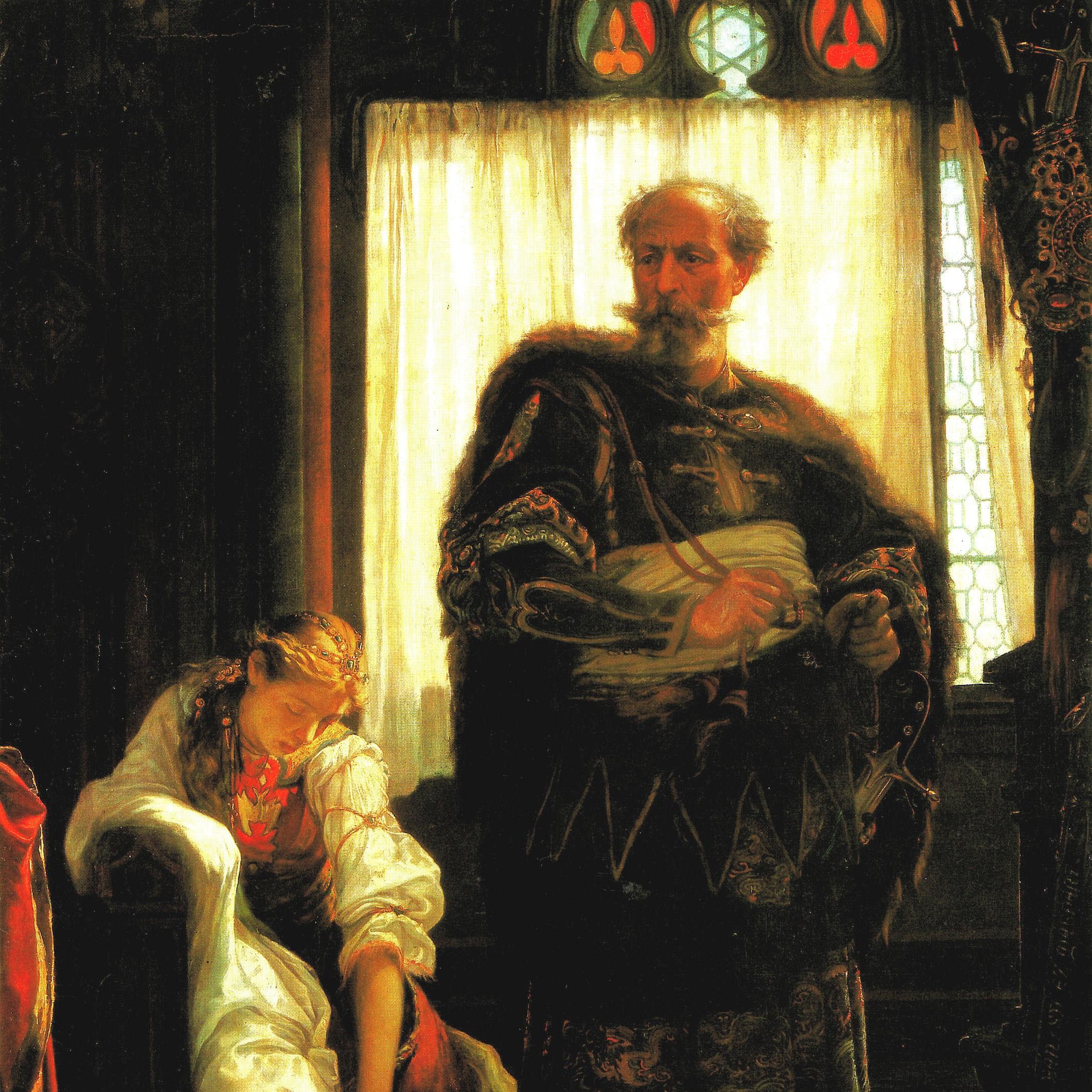 Felicjan Zach po wtargnięciu na dwór ranił węgierską parę królewską.
