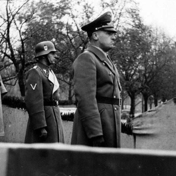 """Friedrich Krüger był, po Hansie Franku, drugim najważniejszym """"celem"""" polskiego podziemia."""