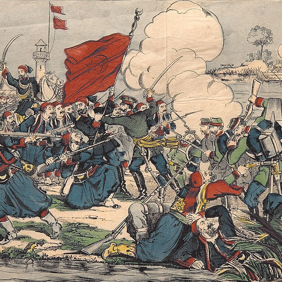 Konflikt zakończył się zdecydowanym zwycięstwem strony rosyjskiej.