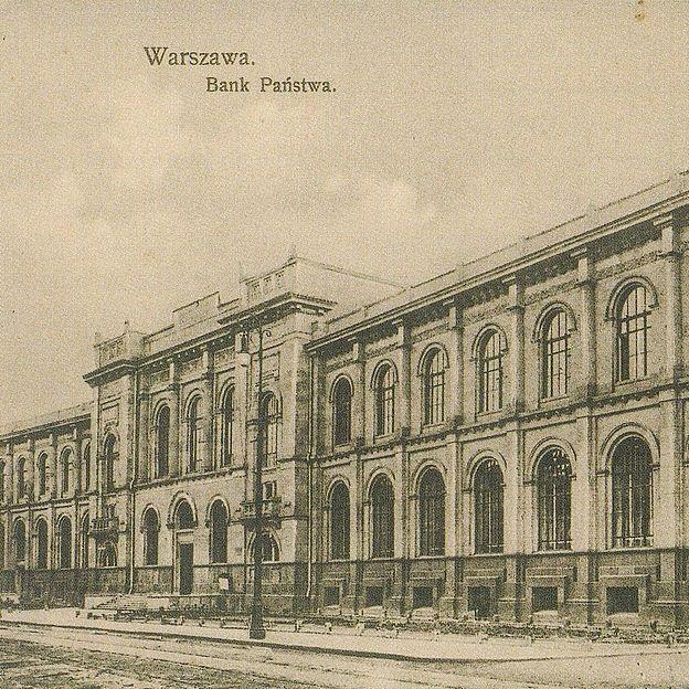 Bank Polski został utworzony jako niezależna od rządu spółka akcyjna.