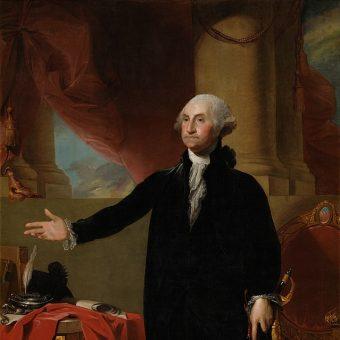George Washington był prezydentem USA w latach 1789-1797.