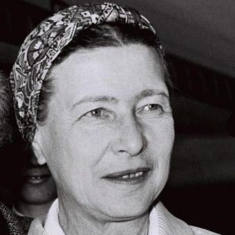 """""""Manifest 343"""" zredagowała francuska filozofka, Simone de Beauvoir."""