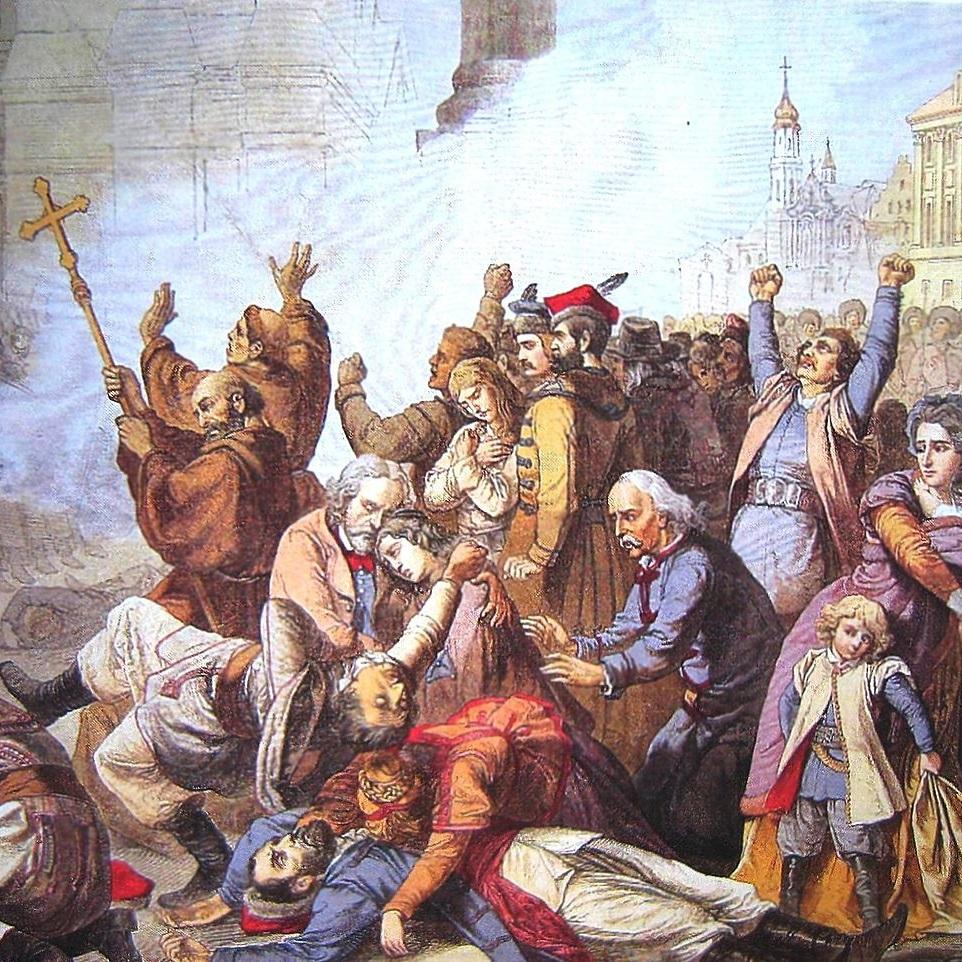 Samobójstwo Jana Peuckera sprawiło, że 7 kwietnia do masakry cywilów nie doszło. Niestety następnego dnia wojsko rosyjskie otworzyło ogień do manifestantów.
