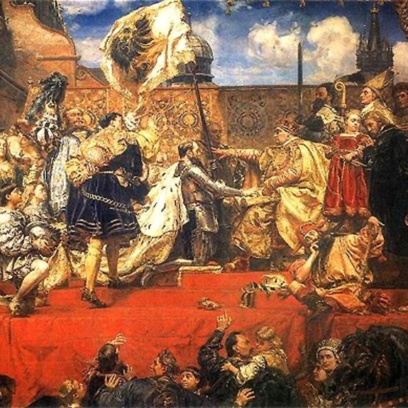 Konsekwencją podpisania traktatu krakowskiego był hołd pruski, który odbył się dwa dni później.