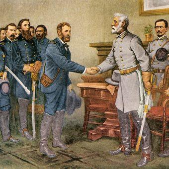 Kapitulacja generała Lee przypieczętowała klęskę Południa w wojnie secesyjnej.