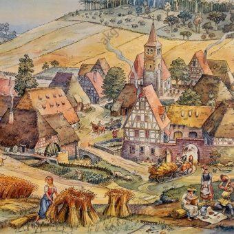 Brud, smród i ubóstwo? Czy taka jest prawda o życiu chłopów w średniowiecznej wsi?