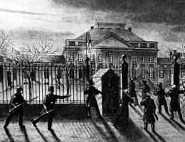 Atak spiskowców na Belweder (fot. domena publiczna)