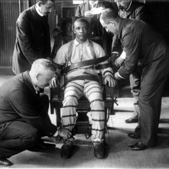 Egzekucja na krześle elektrycznym (fot. domena publiczna)