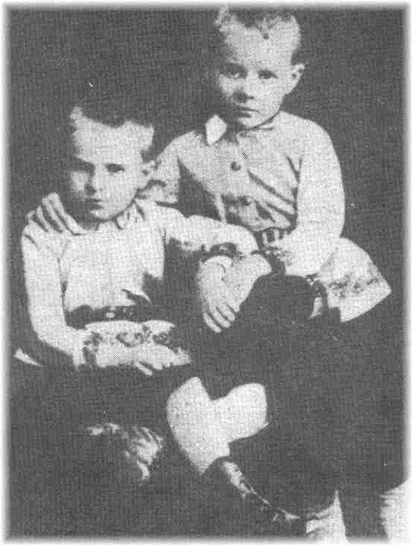 Józef miał zupełnie inne usposobienie od sweojego starszego brata, Bronisława.