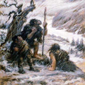 Neandertalczycy (fot. domena publiczna)