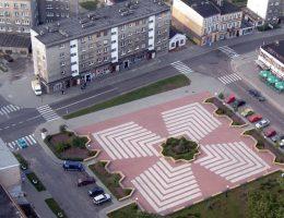 Plac Miejski w Czarnem (Fot. domena publiczna)