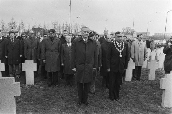 Polski premier Piotr Jaroszewicz (fot. Bert Verhoeff, lic. CC0)