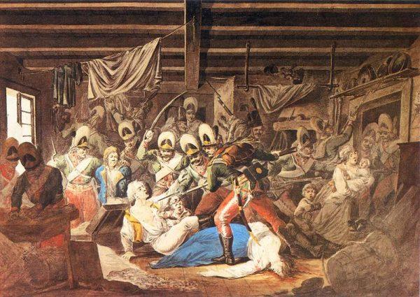 Obraz Aleksandra Orłowskiego utrwalił pamięć o rzezi Pragi wśród kolejnych pokoleń Polaków.