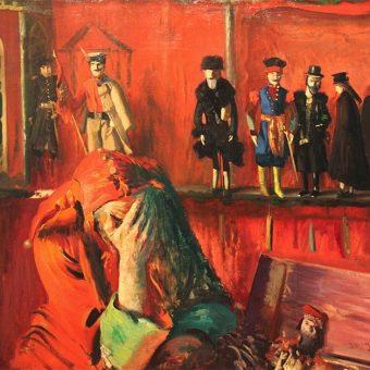 Czyżby Stańczyk na obrazie Leona Wyczółkowskiego rozmyślał nad naszymi wadami narodowymi?