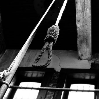 Stryczek z muzeum więzienia hrabstwa Austin (fot. Patrick Feller, lic. CCA 2.0 Generic)
