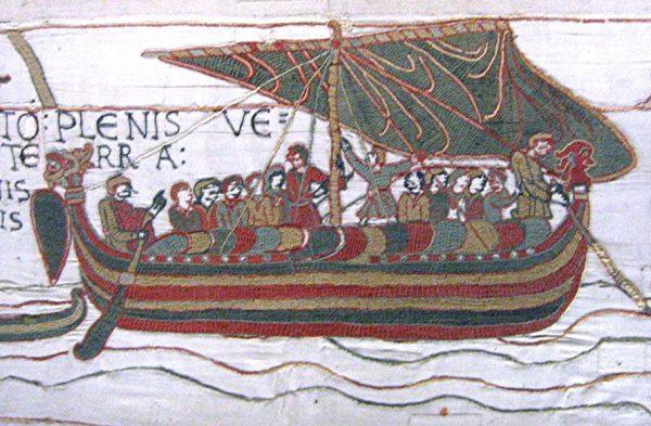 Wilhelm I Zdobywca był normandzkim księciem, który dzięki podbojowi Brytanii został jej królem, zapoczątkowując nową epokę w dziejach Anglii. Na ilustracji flota Wilhelma.