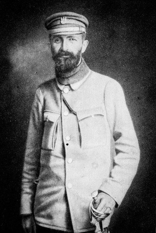Walery Sławek na fotografii z 1915 roku