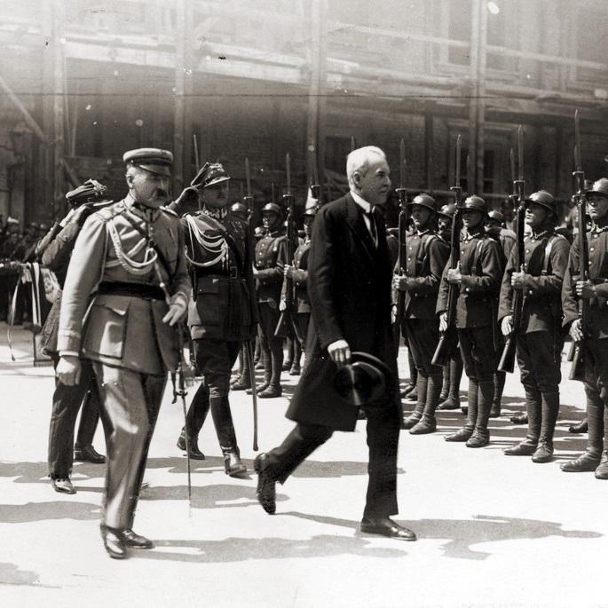 Ceremonia zaprzysiężenia nowego prezydenta odbyła się trzy dni po wyborach, 4 czerwca 1926 roku.