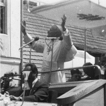 Podczas pielgrzymki Jan Paweł II odwiedził między innymi Gniezno.