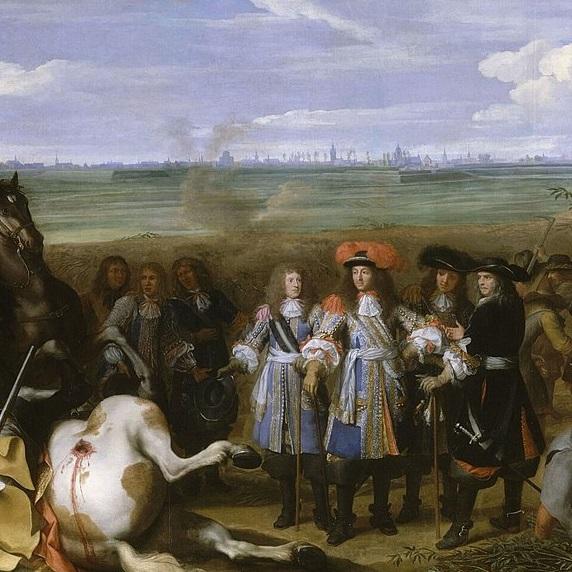 Wojna dewolucyjna między Francją i Hiszpanią trwała w latach 1667-1668;